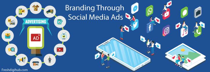 branding through social media ads