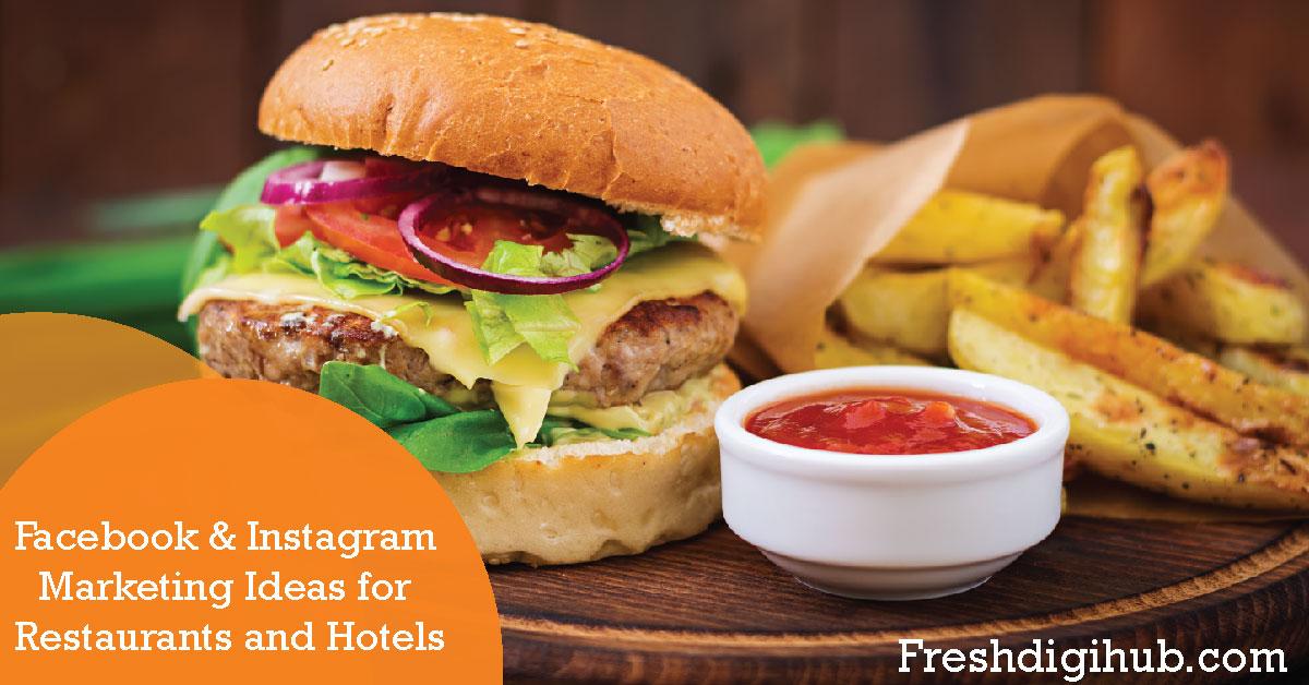facebook & instagram marketing ideas for restaurant