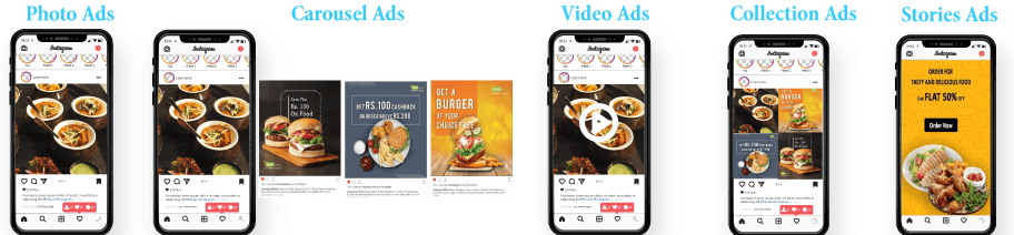 Instagram Ad Campaign Types